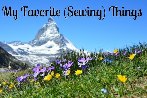 my favorite sewing things-black